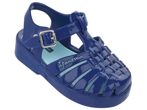 Прекрасни детски сандали Ipanema със затворени пръсти в син цвят 81350524260