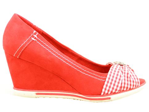 Немски дамски обувки Marco Tozzi на комфортна и модерна платформа 229301vchv