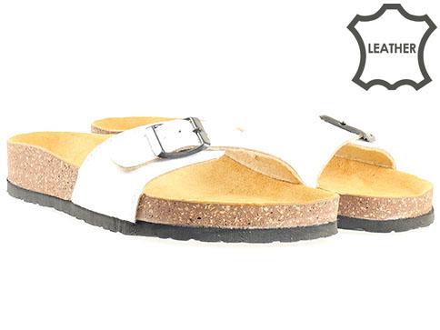 Jana, ортопедични дамски чехли, от 100% естествена кожа 827110b