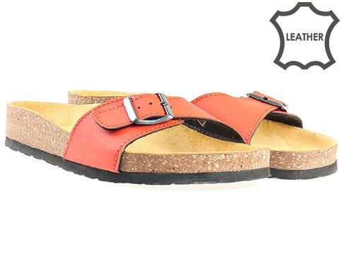 Jana, ортопедични дамски чехли, от 100% естествена кожа 827110chv