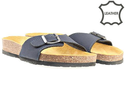 Jana, ортопедични дамски чехли, от 100% естествена кожа 827110s