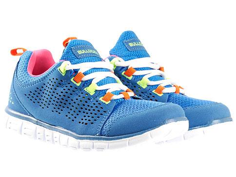 Дамски маратонки Bulldozer с комфортно и гъвкаво ходило в син цвят v6050-40s