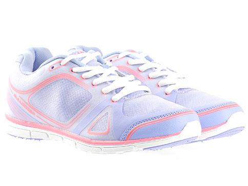 Комфортни дамски маратонки Bulldozer с олекотено и удобно ходило, изпълнени от висококачествен текстил в бледо лилав цвят v6097-40l
