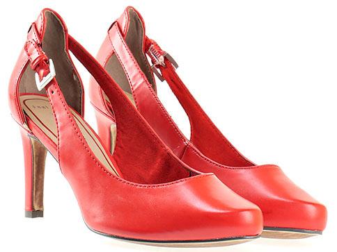 Дамски обувки на висок ток от Marco Tozzi, изработени от висококачествена еко кожа 2222405chv