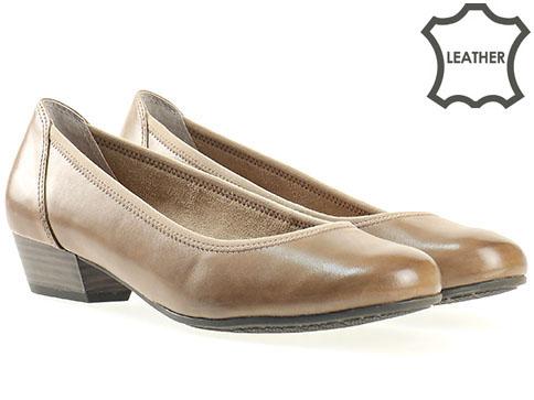 Ортопедични дамски обувки Jana, изработен от висококачествена естествена кожа 822202kch