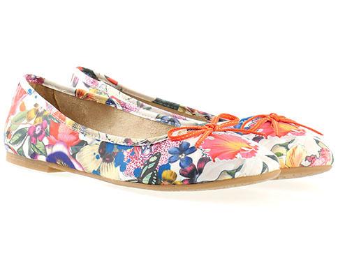 Пъстри дамски обувки от S.Oliver водещ немски производител 522103ps