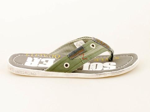 Иновативен модел мъжки чехли S.Oliver с модерен дизайн 17201sv