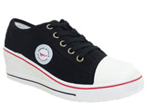 Спортни комфортни дамски обувки на платформа 6375ch
