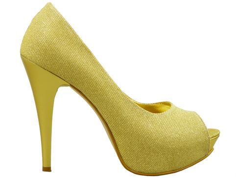 Елегантни дамски обувки на висок ток със семпла визия 1701zl