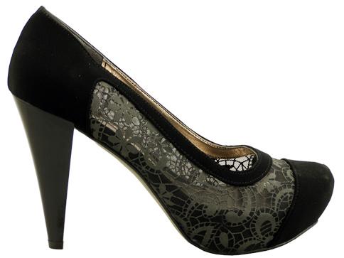 Стилни елегантни дамски обувки със скрита платформа 234nch