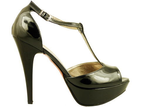 Атрактивни дамски сандали на висок ток 19091lch