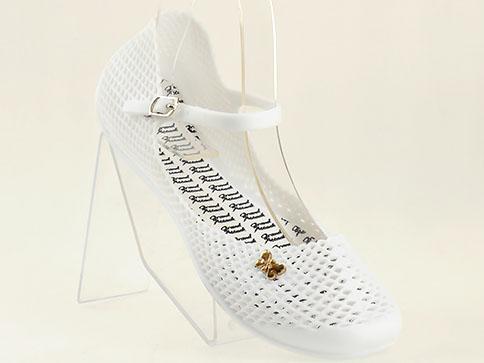 Удобни и модерни гумени сандали GRAND ATTACK в бял цвят 4143b
