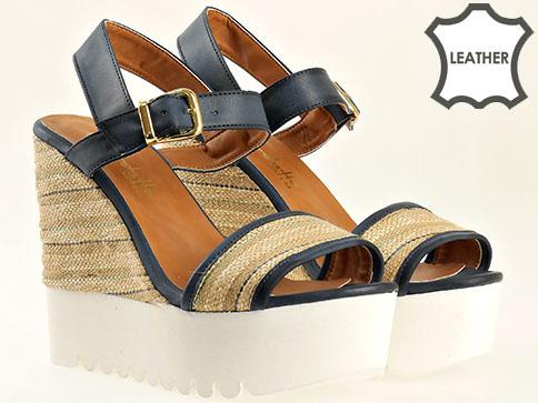 Атрактивен модел дамски сандали на платформа 2273s