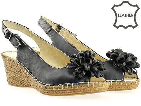 Български дамски сандали на платформа  513362ch