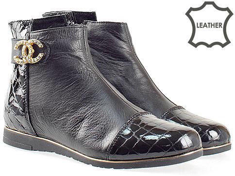 Качествени дамски спортни обувки, изработени от естествена кожа 1501460chk