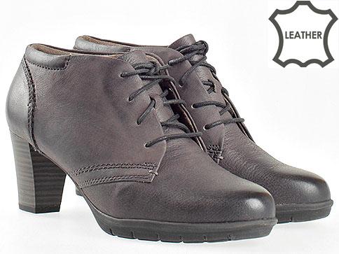 Комфортни дамски обувки Jana на висок ток в лилав цвят 825102l