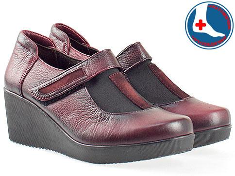 Анатомични дамски обувки от естествена кожа 2301bd