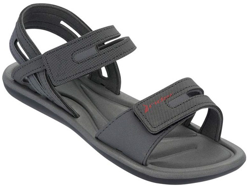 Страхотни и удобни бразилски сандали Rider с две лепенки в черен цвят 8117220743