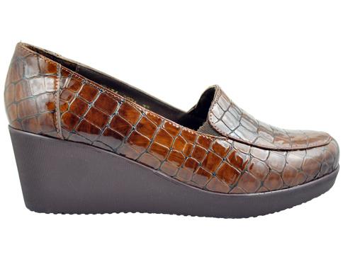 Ежедневни дамски обувки с анатомична стелка на удобна платформа 2871klk