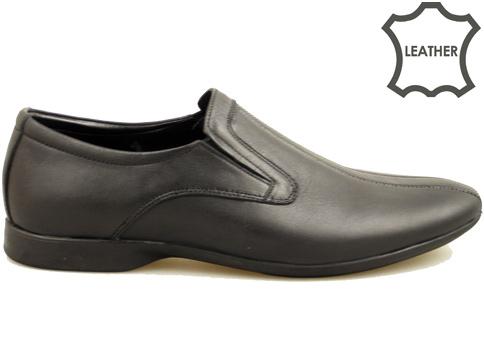 Комфортни мъжки обувки с олекотено гъвкаво ходило, изработени от 100% естествена кожа 66525ch