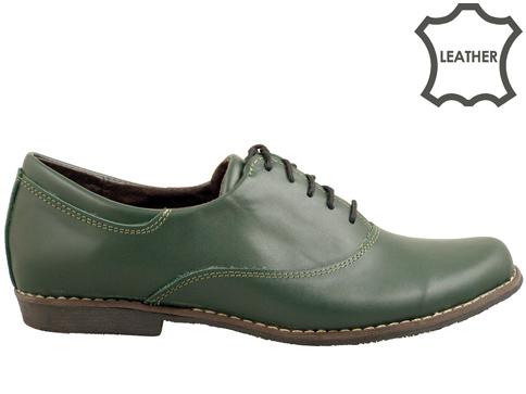 Ежедневни дамски обувки с връзки, произведени в България 16314004z