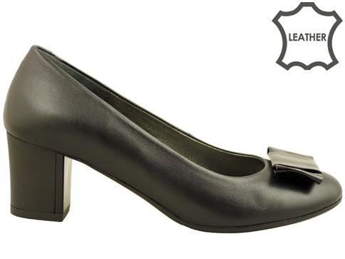 Комфортни дамски обувки с интересна панделка z619203ch
