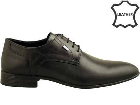 Класически модел официални мъжки обувки с връзки 6040ch