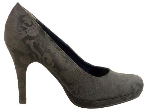 Елегантни, луксозни дамски обувки Tamaris с платформа 122407sch
