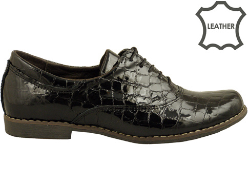 Ежедневни дамски обувки с връзки, произведени в България 16314004klch