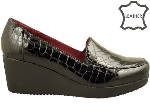 Ежедневни дамски обувки с анатомична стелка на удобна платформа 2871klch