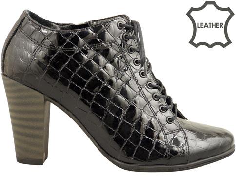 Стилни дамски обувки, изработени от модерен кроко лак 8003591klch