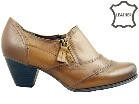 Модерни немски  дамски обувки Jana с цип 824445k