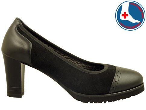 Анатомични дамски обувки Naturelle с перфо мотиви z619405vch