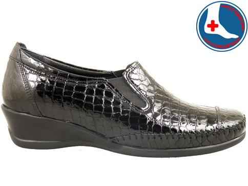 Ортопедични дамски обувки Naturelle тип мокасина с ластици z70691klch