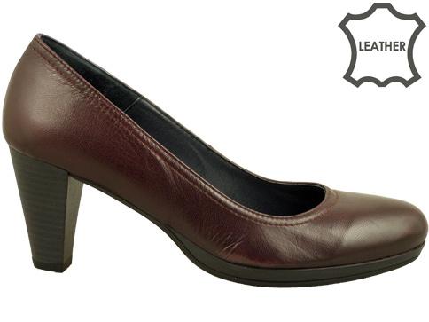 Стилни дамски обувки на утвърден български производител , изработени от естествена кожа 1570bd