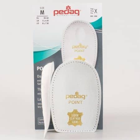 Мека стелка Pedag POINT за петата, която облекчава болки причинени от шипове в петата - Размер M p-190-m