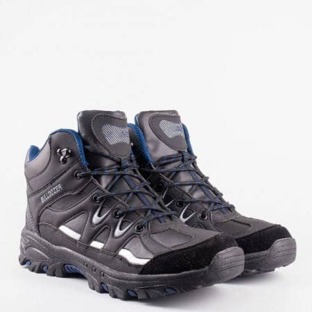 Туристически мъжки  обувки на утвърдената на българския пазар марка  Bulldozer v52065-45chs