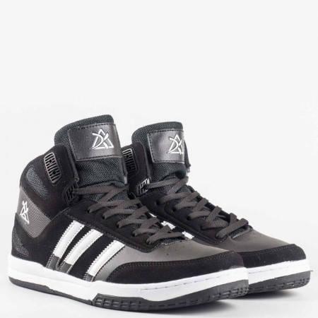 Мъжки спортни обувки на комфортно ходило с връзки   с марка  Bulldozer    v52098-45ch