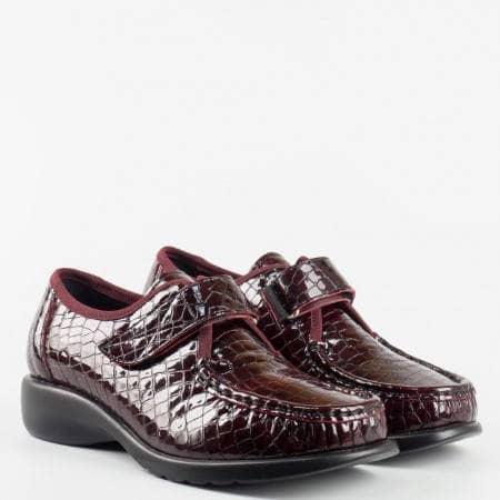 Aнатомични дамски обувки с лепенка Naturelle z92klbd