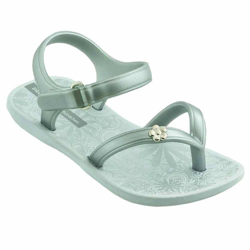 12aec650175 Детски сиви сандали с лента между пръстите на бразилският производител  Ipanema 8091120932 - Sisi-bg.com