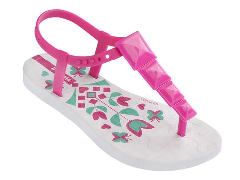 e4493c78b1c Качествени бразилски детски сандали Ipanema с каишка между пръстите в  розово 8104722119
