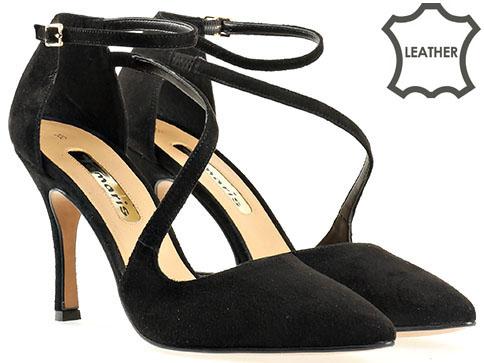 ab41019342d Елегантни дамски обувки от Tamaris водещ немски производител, изработен от  естествен велур 124423vch