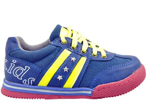 84384473afa Детски спортни обувки тип маратонки с връзки в син цвят 9371-30s ...