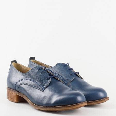 Дамска ежедневна обувка в класическа визия с връзки и шито ходило на марката Nota bene 1011853s