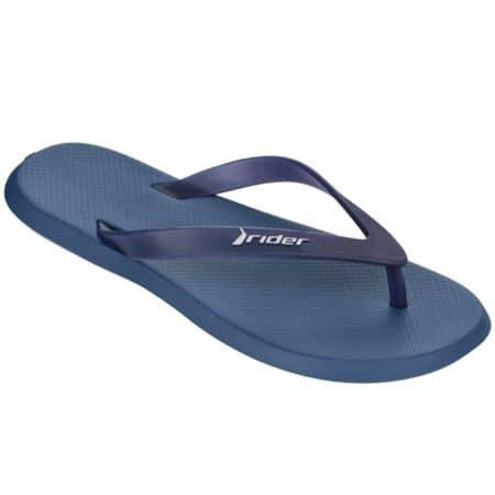 Равни мъжки джапанки в тъмно син цвят- RIDER 1059420781