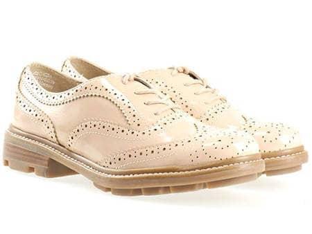 Немски дамски обувки Tamaris тип Оксфорд с връзки 1123700lbj