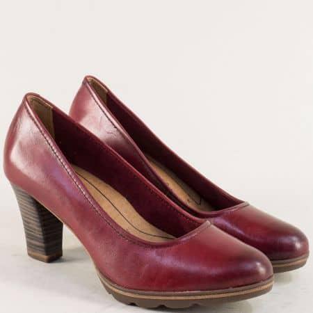 Дамски обувки с Anti-shock и Memory пяна в цвят бордо 122425bd