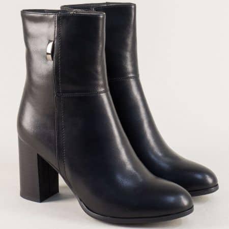 Стилни дамски боти Елиза в черен цвят 12402535ch