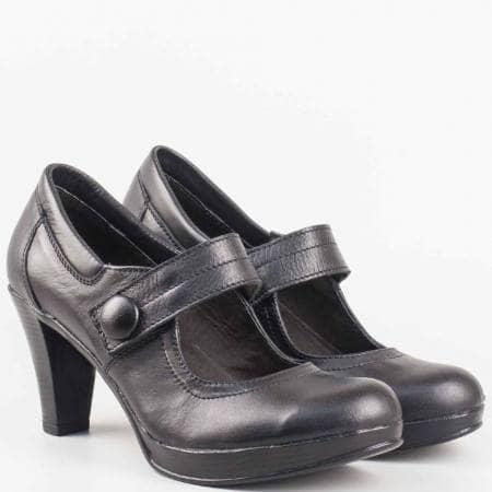 Стилни дамски обувки на утвърден български производител , изработени от естествена кожа 1296843ch