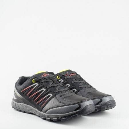 Комфортни и леки мъжки маратонки с  модерна визия 15004-45ch